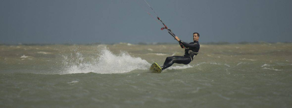 Kitesurfing in West Sussex