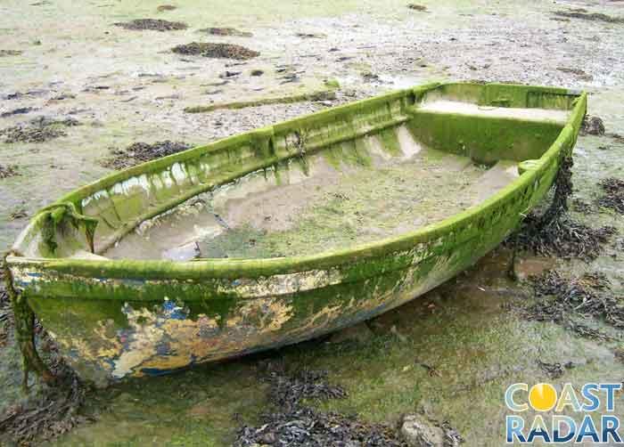 Boat in Bosham harbour