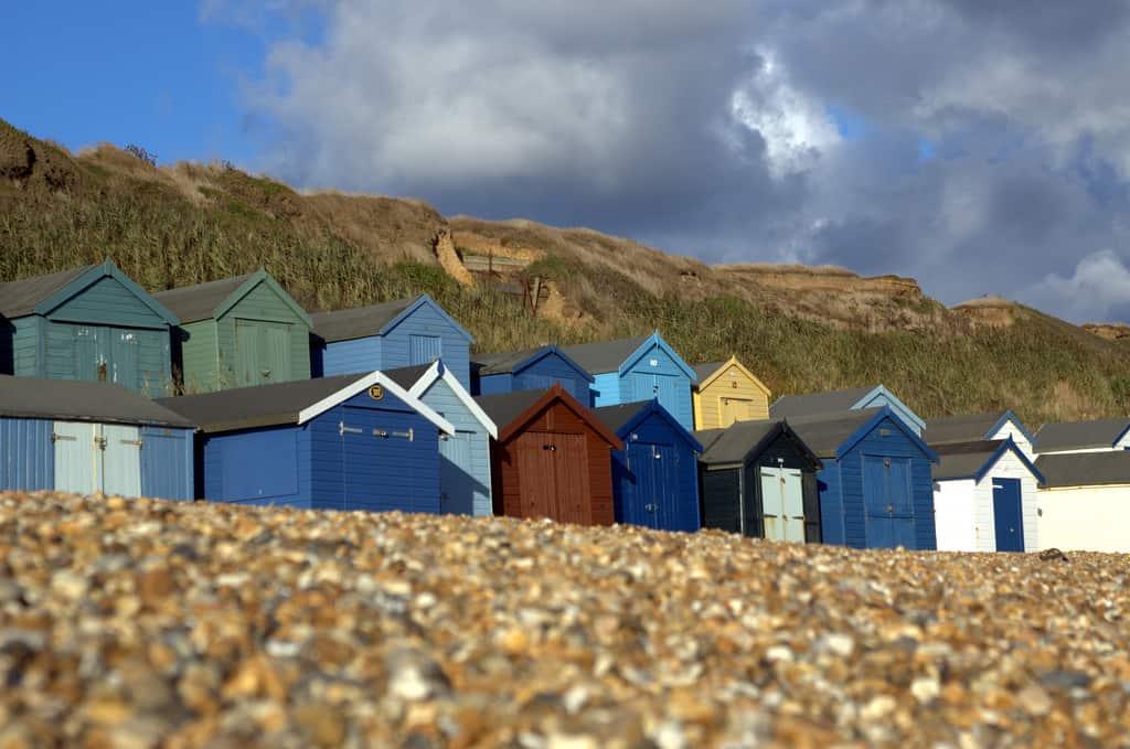 """Milford on Sea beach"