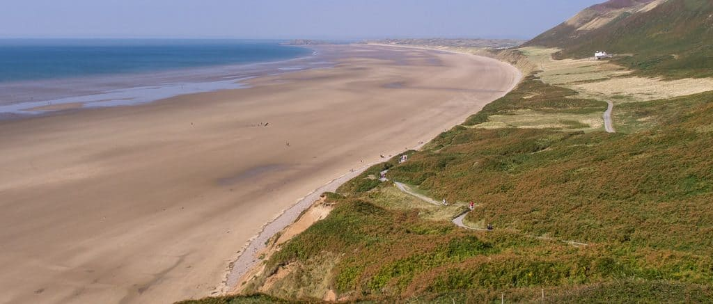The Gower Peninsula, Wales