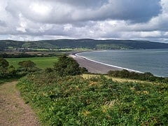 west somerset coast path photo