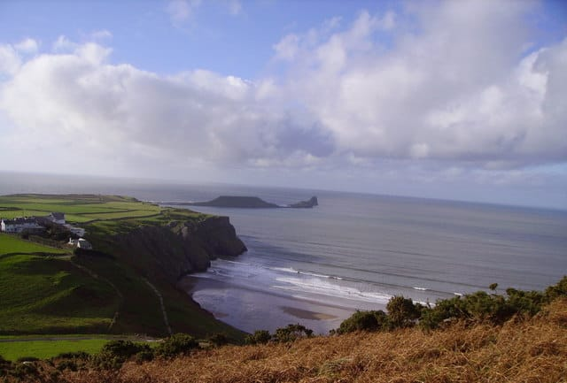 Worms Head, Gower Peninsula, Wales