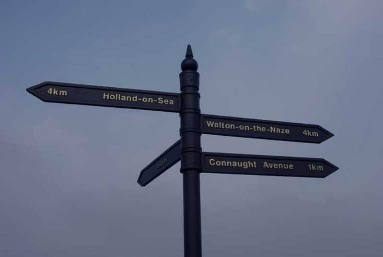 Which one Walton, Frinton or Clacton?