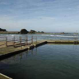 Bude open-air sea water swimming pool