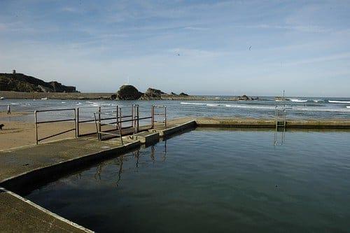 Bude open-air sea water swimming pool