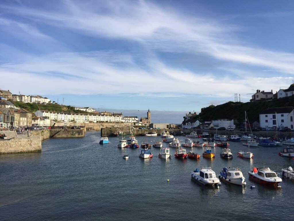 Porthleven harbour, Cornwall