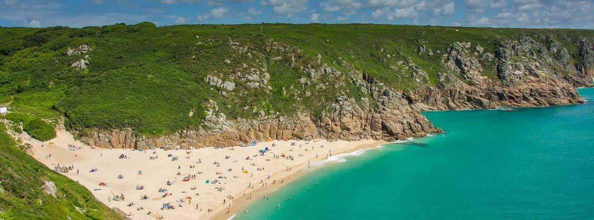 Porthcurno Beach, Porthcurno, Cornwall
