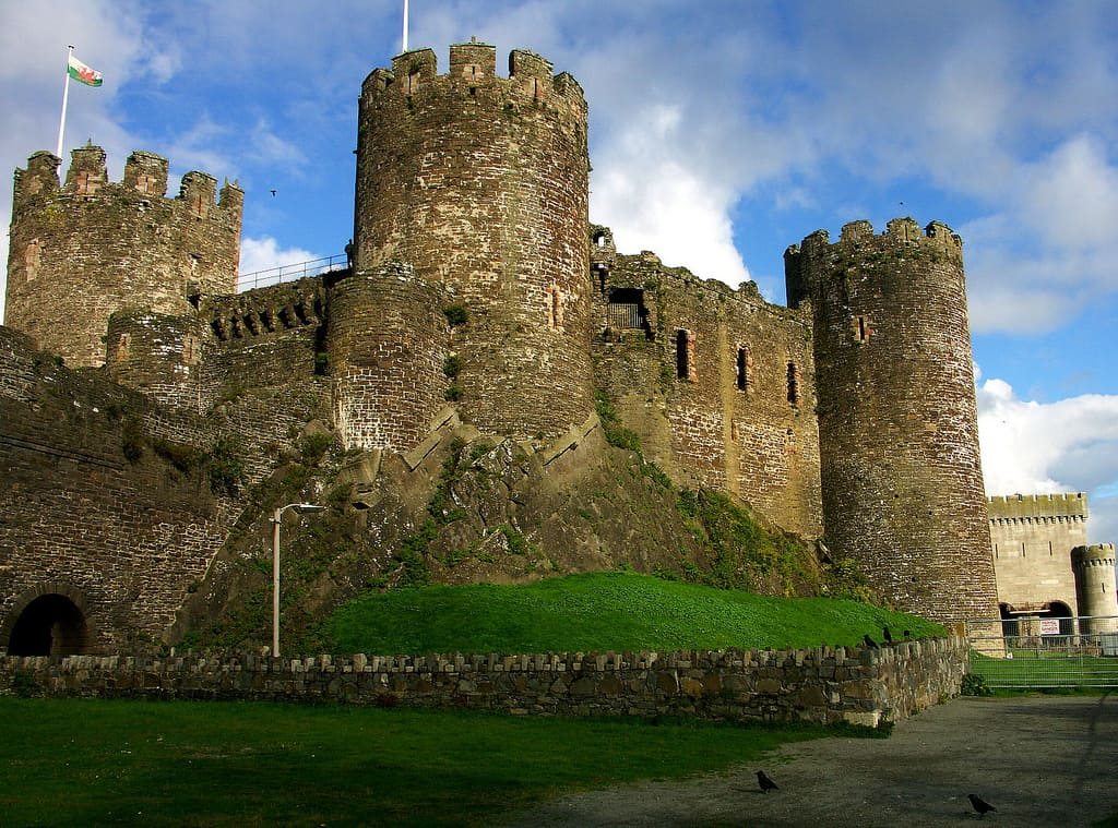 conway castle photo