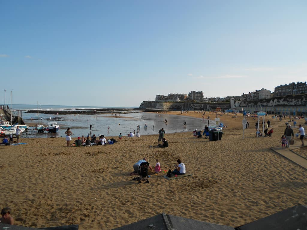 viking bay broadstairs photo