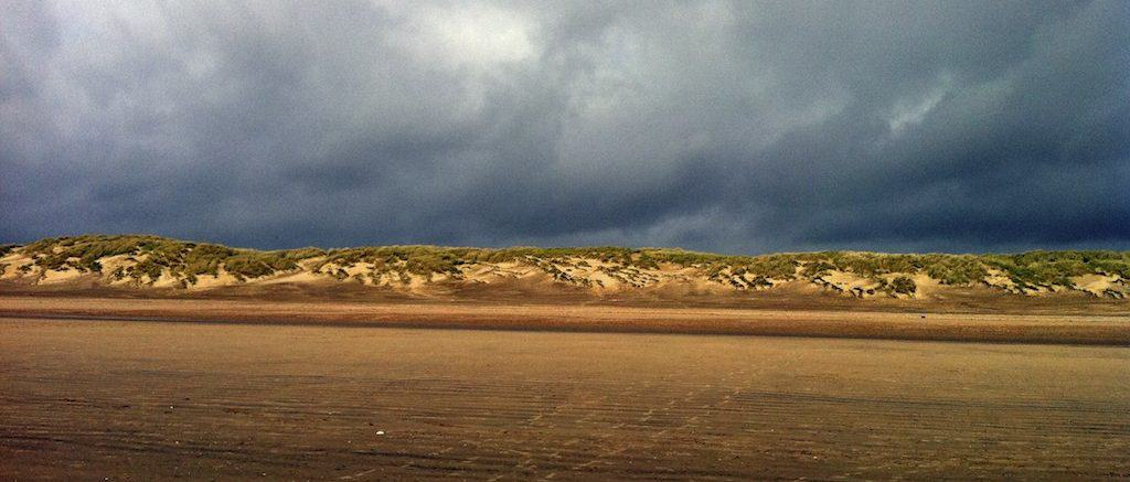 Camber Sands beach, Rye, East Sussex