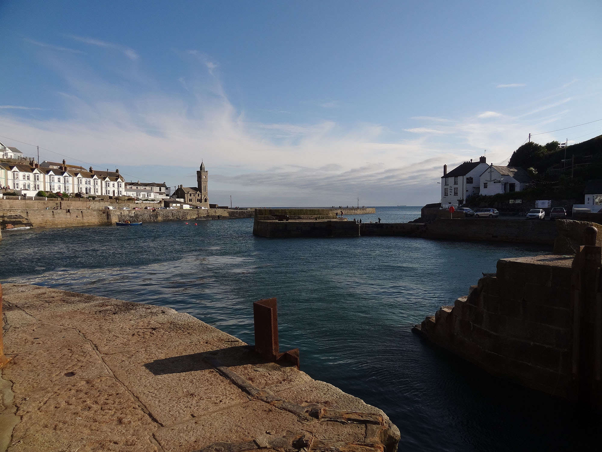 From the harbour, Porthleven, Cornwall