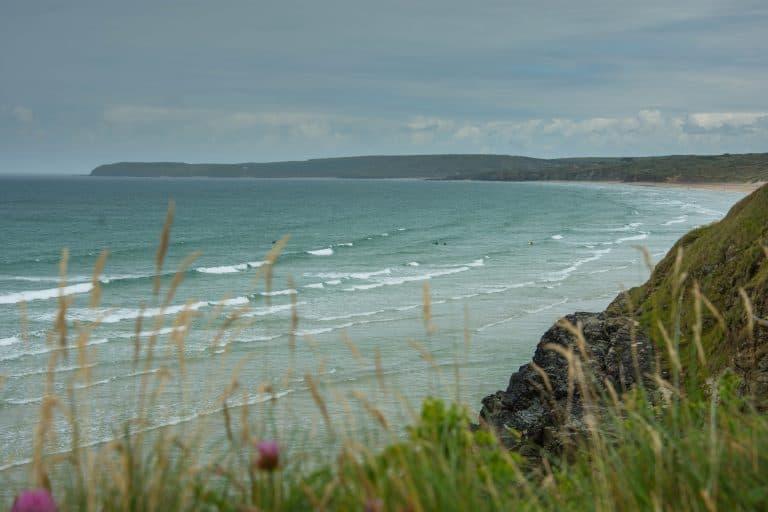 Hayle Beach, hayle, Cornwall