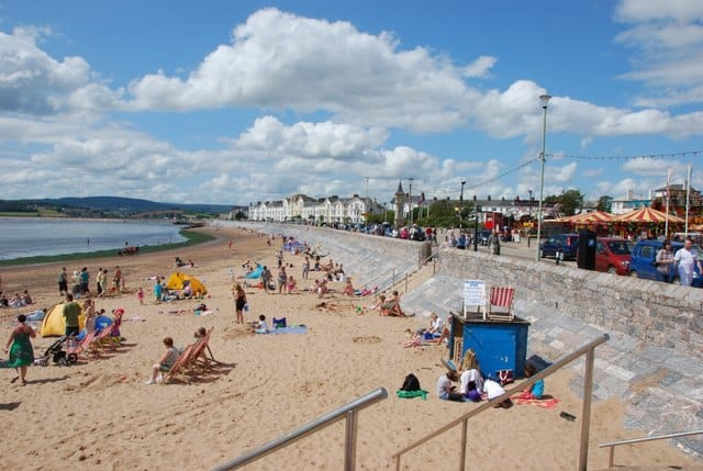 Exmouth beach, Exmouth, Devon