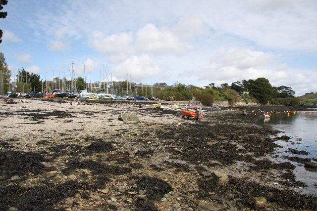 Feock Loe beach, Truro, Cornwall