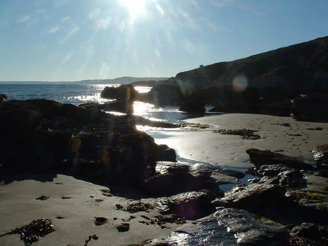 Freathy beach, Tregonhawke, Cornwall