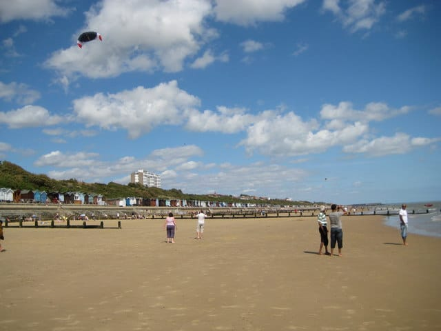 Frinton-on-Sea beach, Frinton-on-Sea, Essex