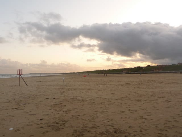 Gorleston beach, Great Yarmouth, Norfolk