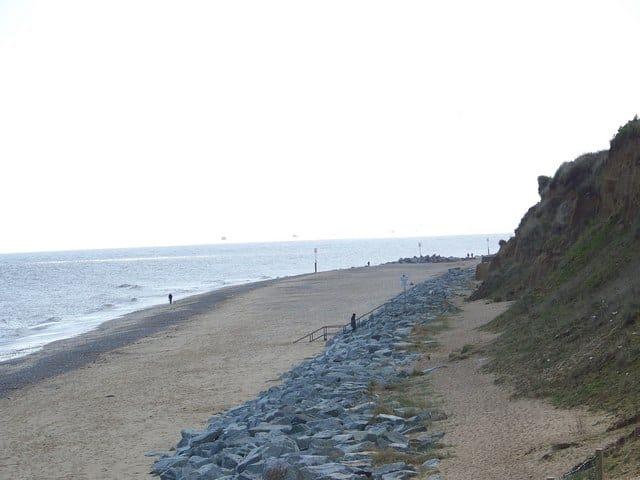 California beach, Great Yarmouth, Norfolk