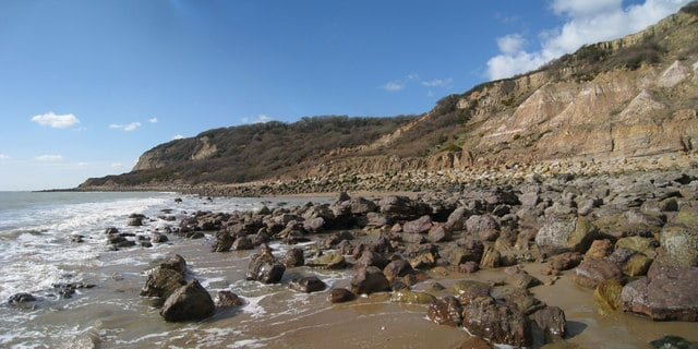 Covehurst Bay beach, Hastings, East Sussex