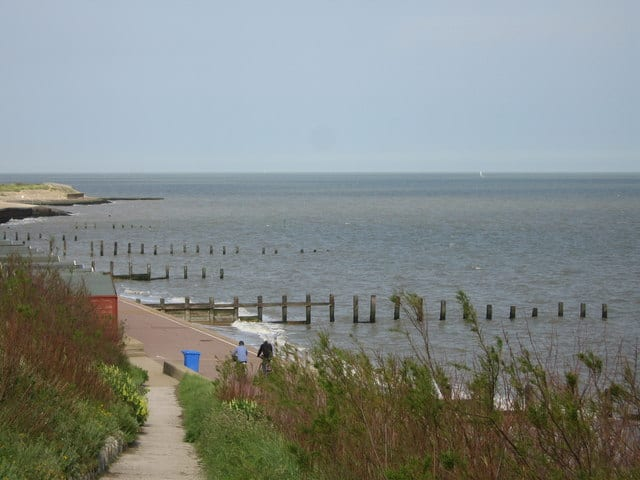 Holland-on-sea beach, Clacton-on-Sea, Essex