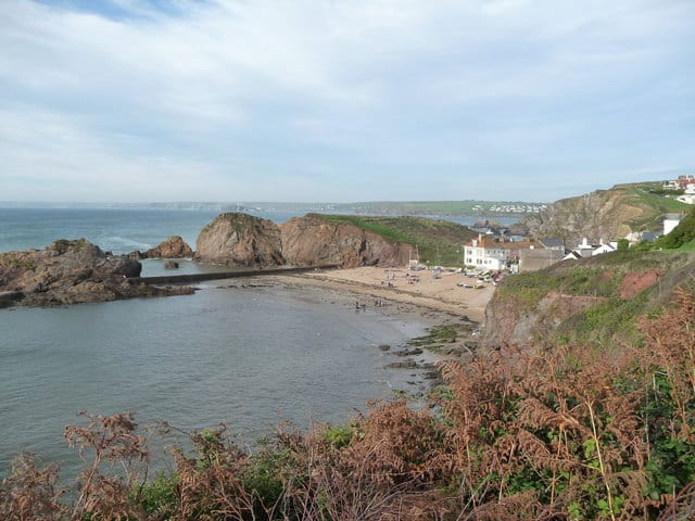 Hope Cove beach, Salcombe, Devon