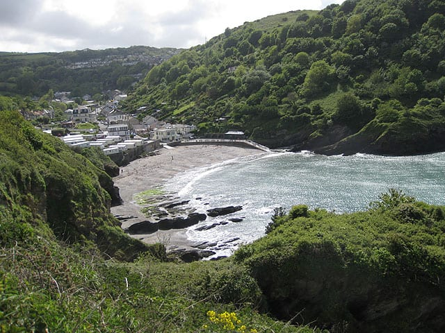 Hele Bay beach, Ilfracombe, Devon
