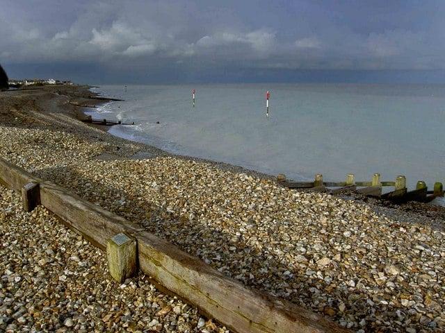 Kingsdown beach, Kingsdown near Deal, Kent
