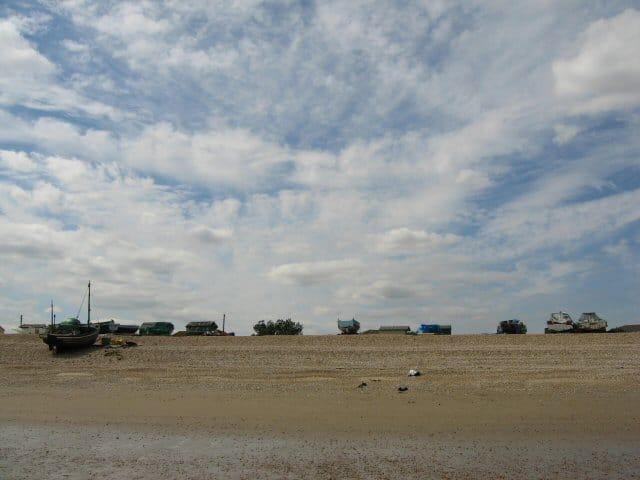 Littlestone beach, New Romney, Kent