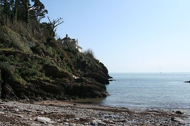 Mill Bay Cove beach, Dartmouth, Devon