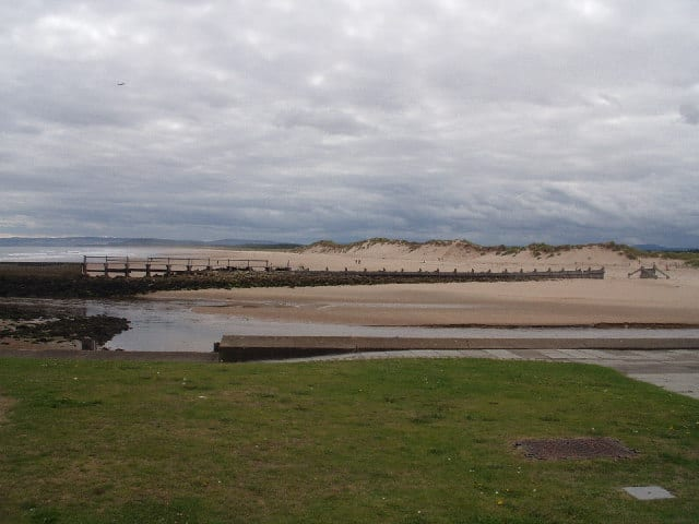 Lossiemouth East Beach, Moray