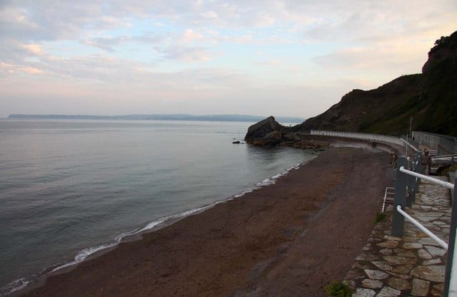 Meadfoot beach, Torquay, Devon