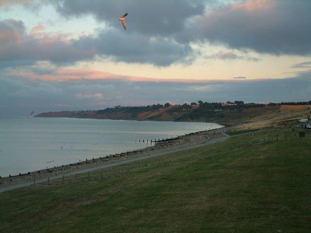 Minster Leas beach, Isle of Sheppey, Kent