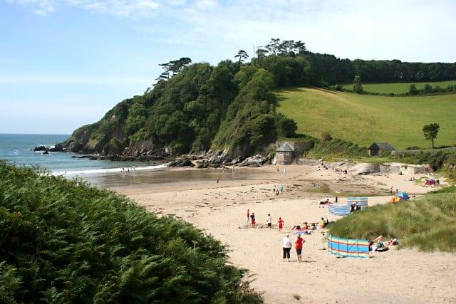 Mothecombe and Coastguards beach, Holbeton, Devon