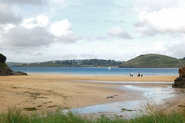St Georges Cove beach, Padstow, Cornwall