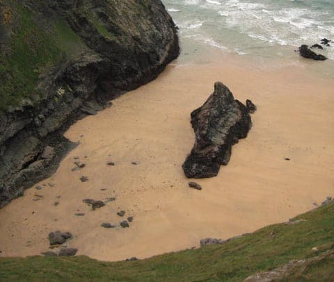 Butter Hole beach, Padstow, Cornwall