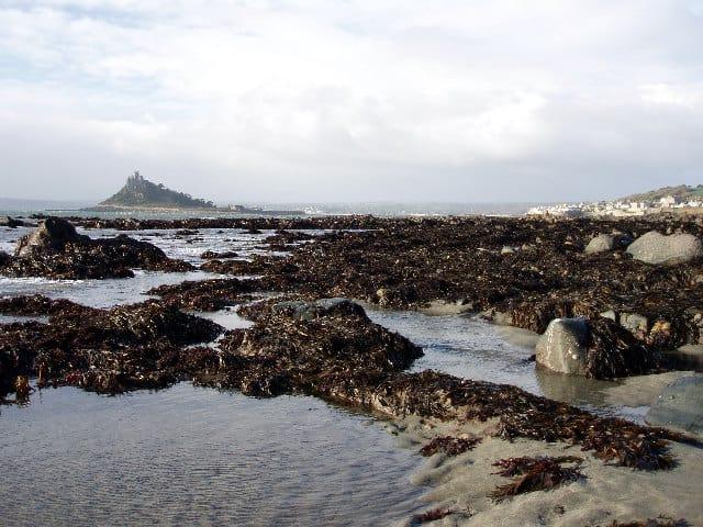 Trenow Cove beach, Penzance, Cornwall