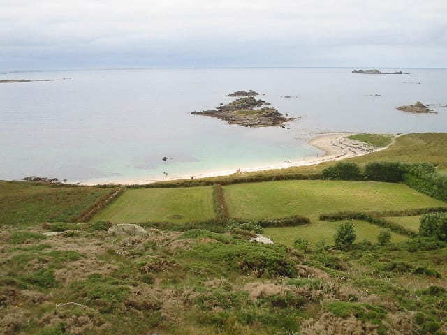 Rushy Bay beach, Isles of Scilly, Cornwall