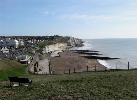 Saltdean beach, Brighton, East Sussex