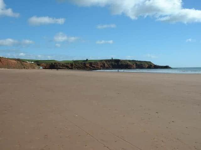 Sandy Bay beach, Exmouth, Devon