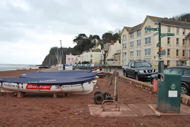 Shaldon beach, Exmouth, Devon