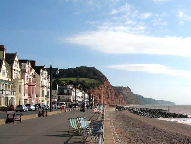 Sidmouth-Town-beach