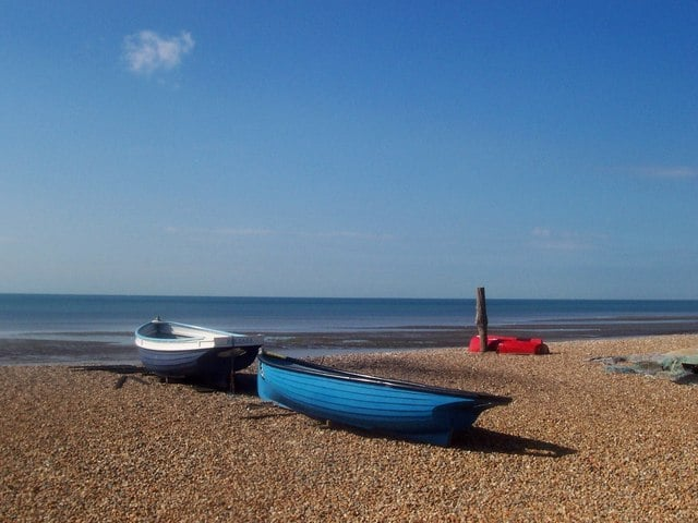 East Preston and Angmering beach, Littlehampton, West Sussex