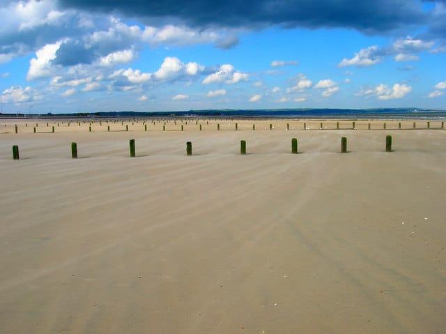 St Marys Bay Sands beach, Hythe, Kent