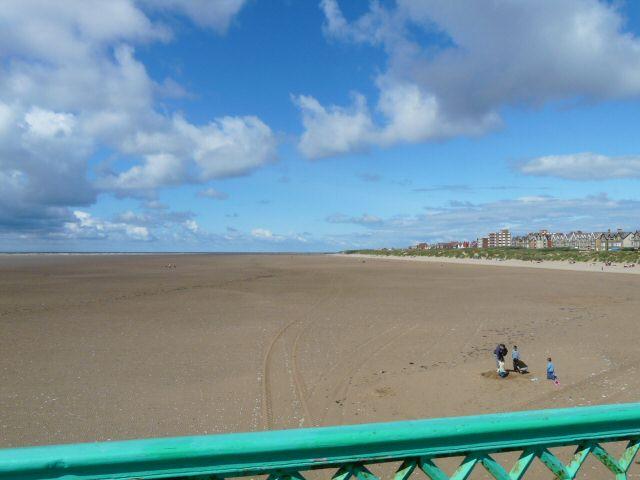 St Annes beach, Blackpool, Lancashire