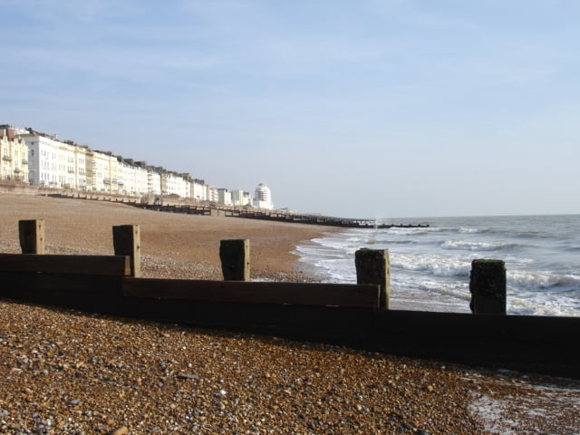 St Leonards beach, Hastings, East Sussex