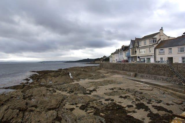 St Mawes beach, St Mawes, Cornwall