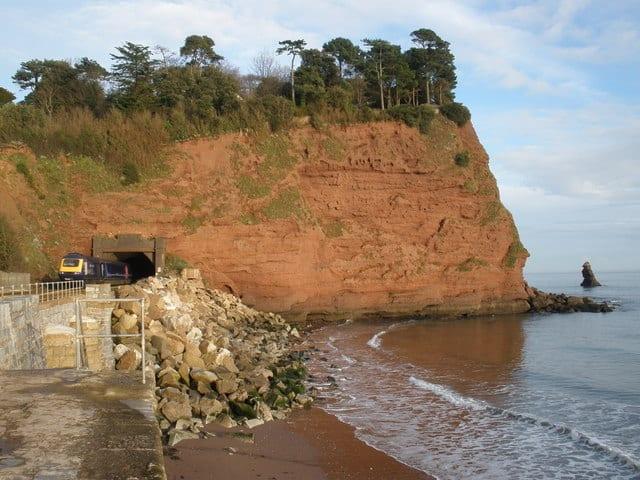 Holcombe beach, Teignmouth, Devon
