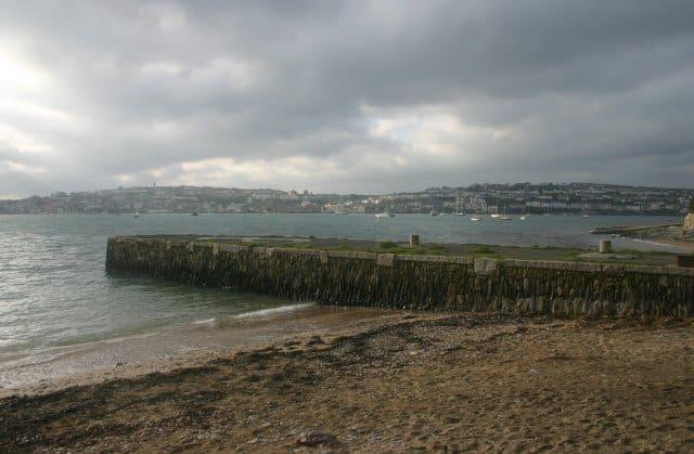 Flushing beach, Falmouth, Cornwall