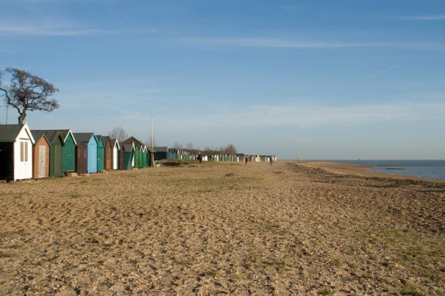 West Mersea Beach, Mersea Island, Essex