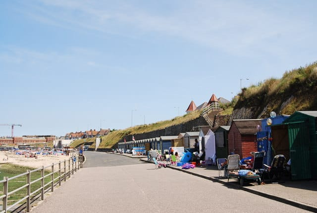 Westbrook Bay beach, Margate, Kent